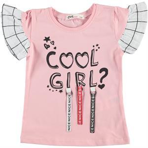 Civil Girls Girl Kids T-Shirt Pink 2-5 Years