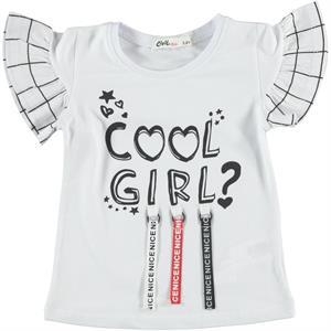 Civil Girls Girl Kids T-Shirt White 2-5 Years
