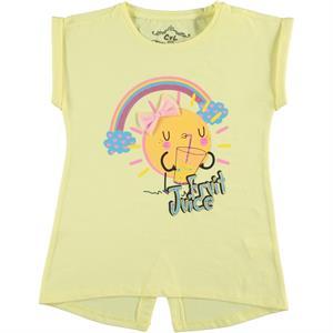Cvl Girl Kids T-Shirt Age 6-9 Yellow