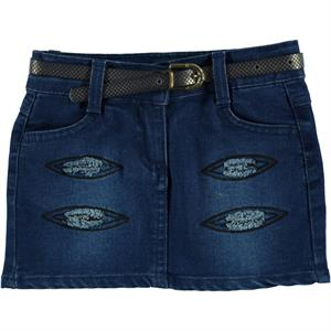 Civil Girls 2-5 Years Denim Blue Skirt Girl