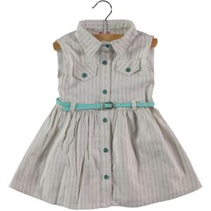 Civil Girls Yesil 2-5 Years Child Girl Dress