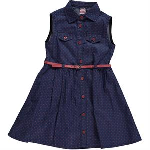 Civil Girls Girl Denim Dress 6-9 The Ages Of Tongue In Cheek