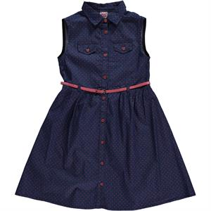 Civil Girls Denim Dress For Girl Aged 10-13 Tongue In Cheek