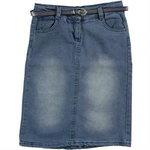 Civil Girls Blue Denim Skirt Girl Age 10-13