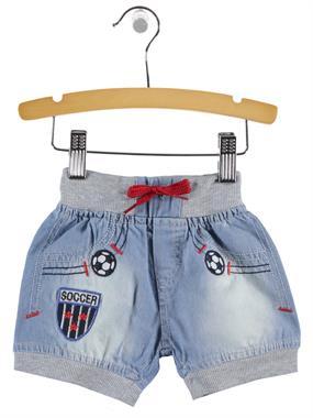 Civil Baby Baby Boy Denim Shorts Blue-6-18 Months