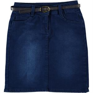 Civil Girls Skirt Girl Ages 6-9-Blue