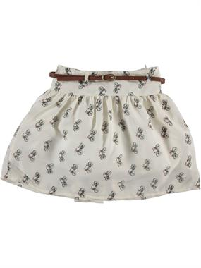 Civil Girls Ecru Skirt Girl Age 6-9