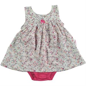Civil Baby 6-18 Months Baby Girl Dress Ecru