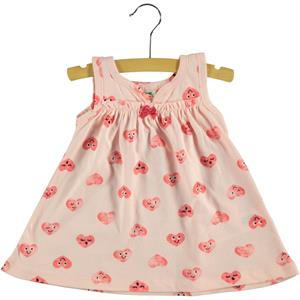 Civil Baby 6-18 Months Baby Girl Powder Pink Dress