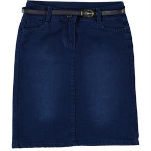 Civil Girls Saks Denim Blue Skirt Girl Age 10-13