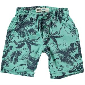 Civil Boys 2-5 Years Mint Green Boy Shorts
