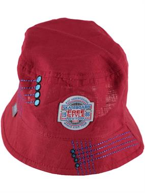 Kitti Age 1-4 Boy Maxi Burgundy Hat