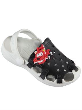 Civil Numbers 25-30 Slippers Black Boy