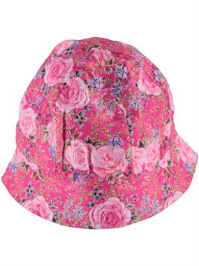 Kitti Age 1-4 Girl Fuchsia Hat Maxi