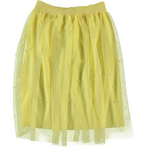 Missiva Girls Yellow Tulle Skirt Age 6-9