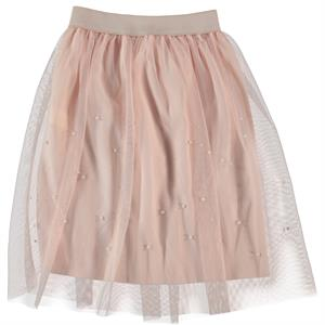 Missiva Powder Pink Tulle Skirt Girls Age 10-13