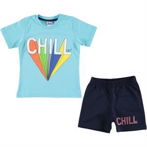 Civil Boys Erkek Çocuk Şortlu Takım 2-5 Yaş Mavi