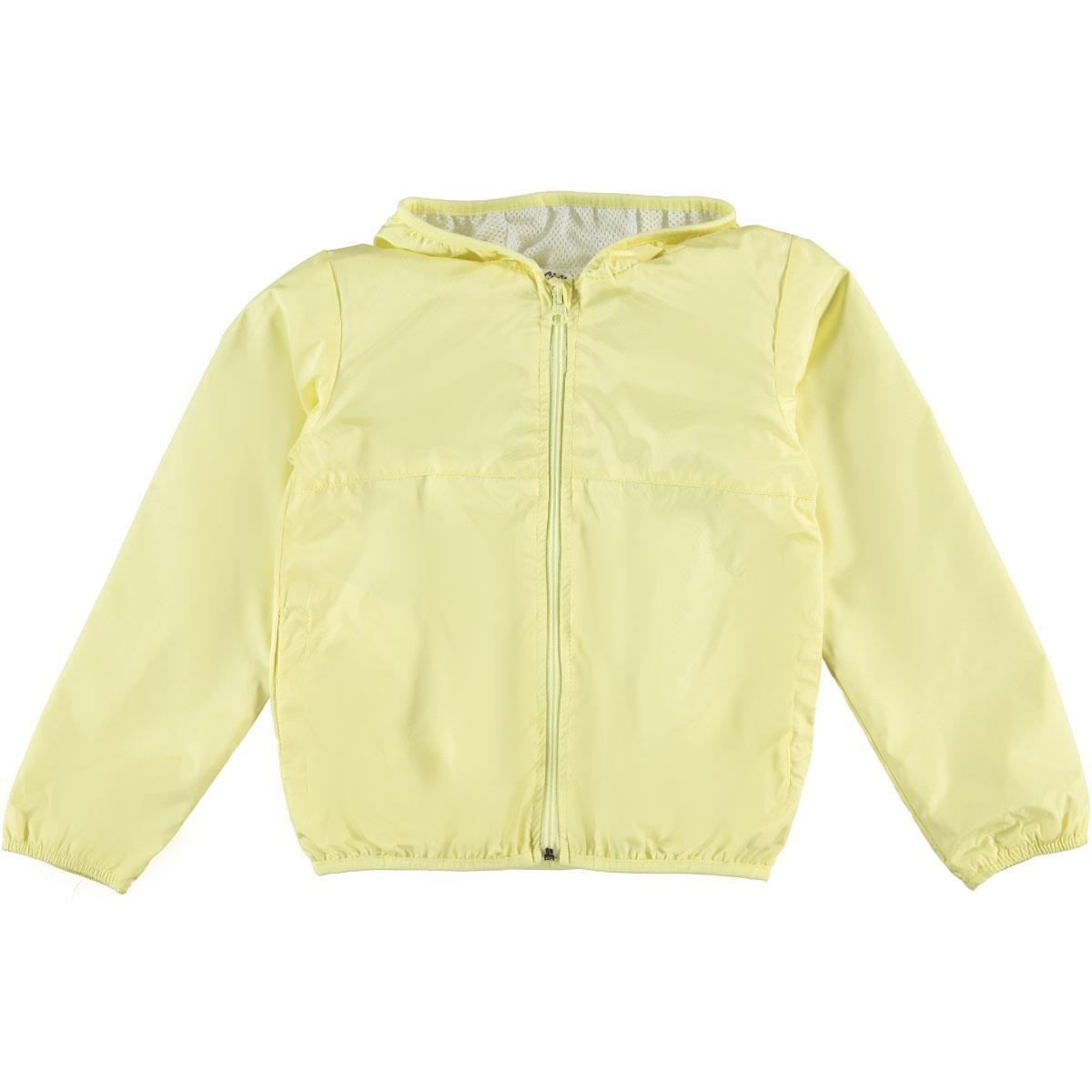 Civil Girls Girl Yellow Hooded Raincoat-Age 6-9