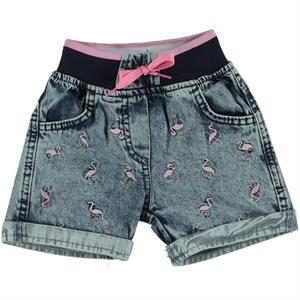 Civil Girls 2-5 Years Girls Blue Jeans Shorts