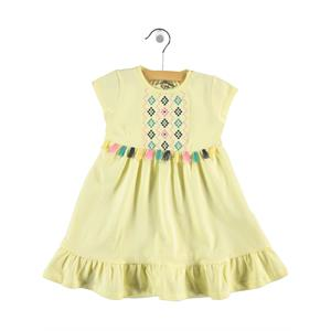 Cvl Yellow Girl Dress For 2-5 Age