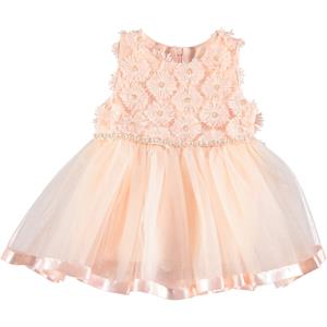 Civil Baby 6-18 Months Baby Girl Dress Salmon
