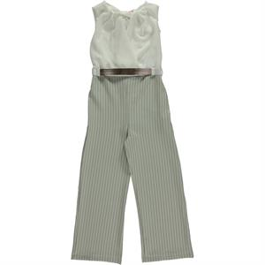 Civil Girls Age Girl Boy Overalls 6-9 Yesil