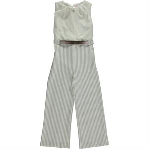 Civil Girls Ecru Overalls Boy Girl Age 10-13