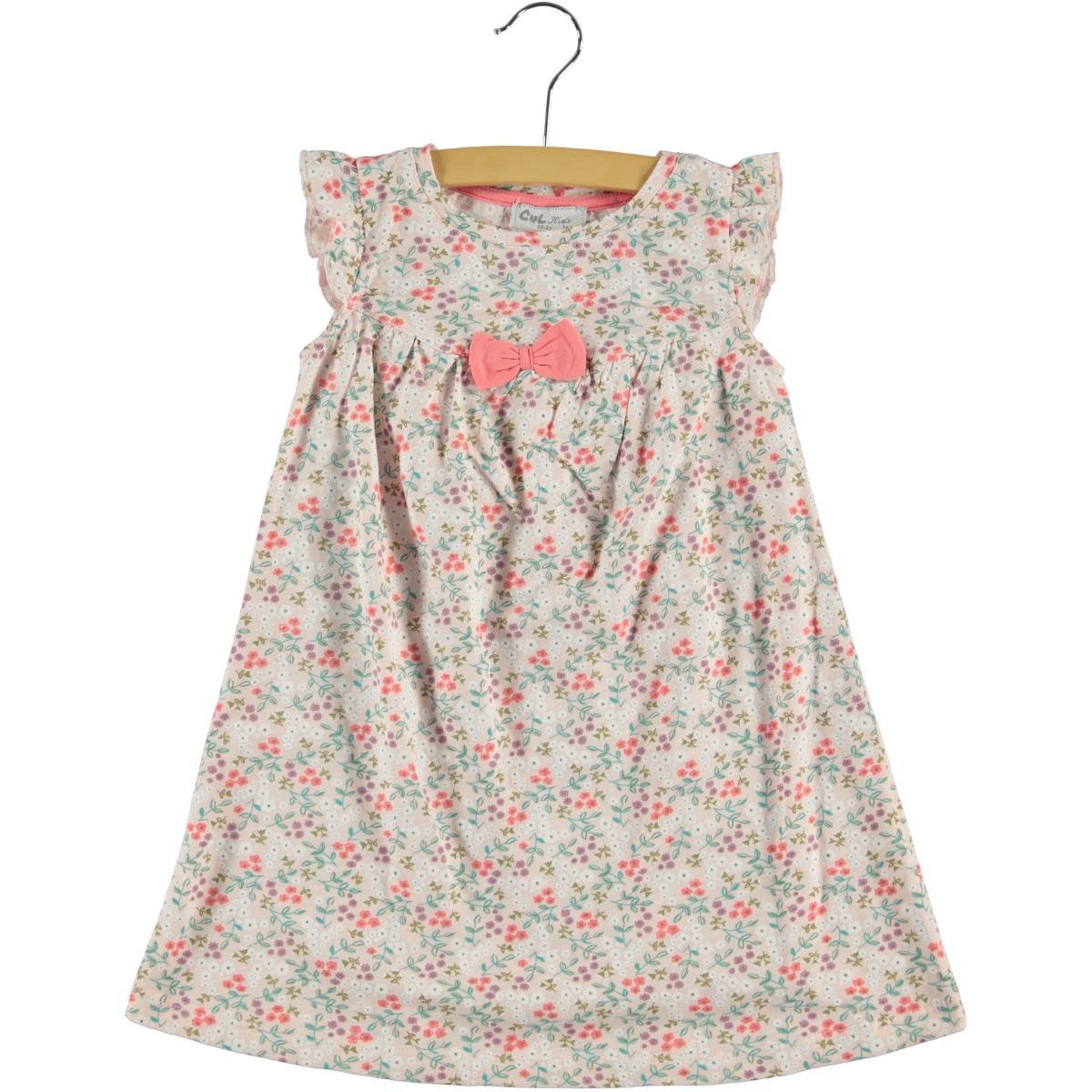 Cvl Powder Pink Girl Dress For 2-5 Age