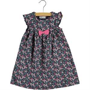 Cvl Girl Dress Navy Blue Age 2-5