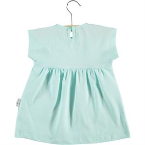 Kujju 6-18 Months Baby Girl Mint Green Dress (2)
