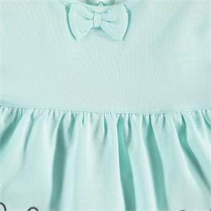Kujju 6-18 Months Baby Girl Mint Green Dress (3)