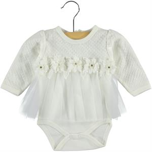 Civil Baby Ecru Baby Girl Clothes 0-9 Months