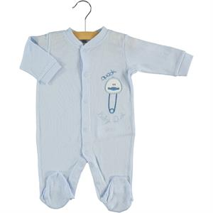Civil Baby Oh Baby's Baby Booty Blue Overalls 0-6 Months