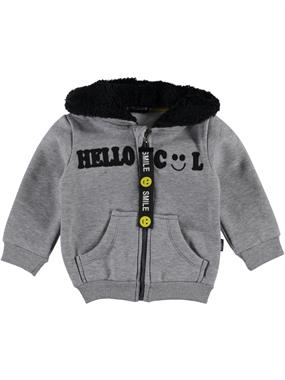 Tuffy Age 1-4 Boy Cardigan Gray