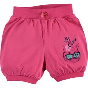 Civil Girls 2-5 Years Girl Boy Shorts Fuchsia