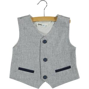 Civil Boys Ages 6-9 Boy Vest Indigo