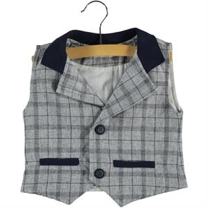 Civil Boys Tongue In Cheek Boy Vest 2-5 Years
