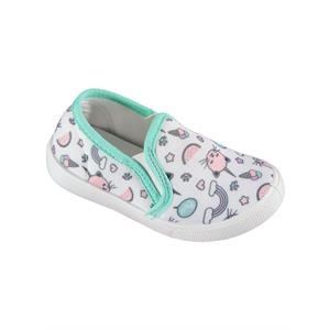 Civil Linen White Baby Girls Shoes 21-25 Number