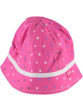 Kitti 0-18 Months Baby Girl Hat And Fuchsia Maxi