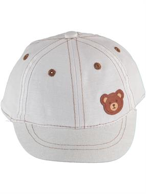 Kitti 0-18 Months, Baby Boy Ecru Hat