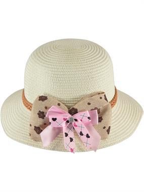 Kitti Ecru Straw Hat Girl 6-12 Years