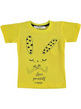 Roly Poly Girl Kids T-Shirt Yellow Age 1-4
