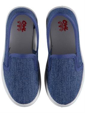 Civil Erkek Çocuk Keten Ayakkabı 26-30 Numara Mavi