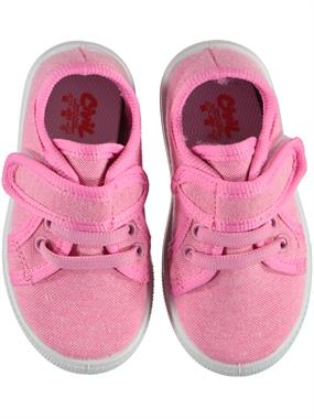 Civil Linen Pink Baby Girls Shoes 21-25 Number