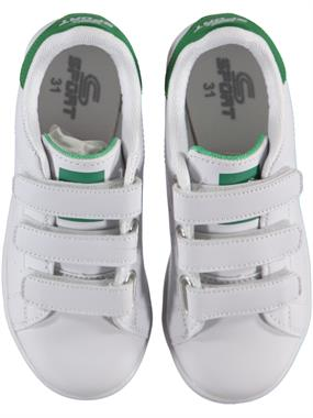 Sport Numbers 31-35 Boy White Sneakers