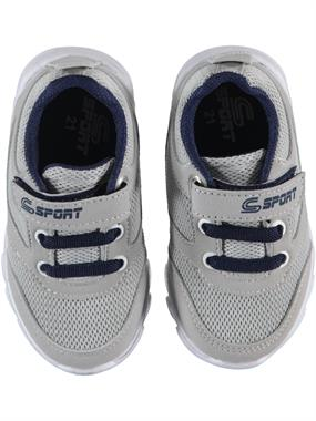 Sport Baby Boy Gray Sneakers 21-25 Number