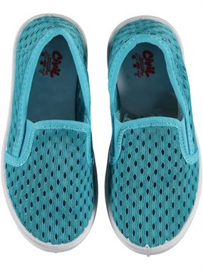 Civil Kid Linen Turquoise Shoes 26-30 Number