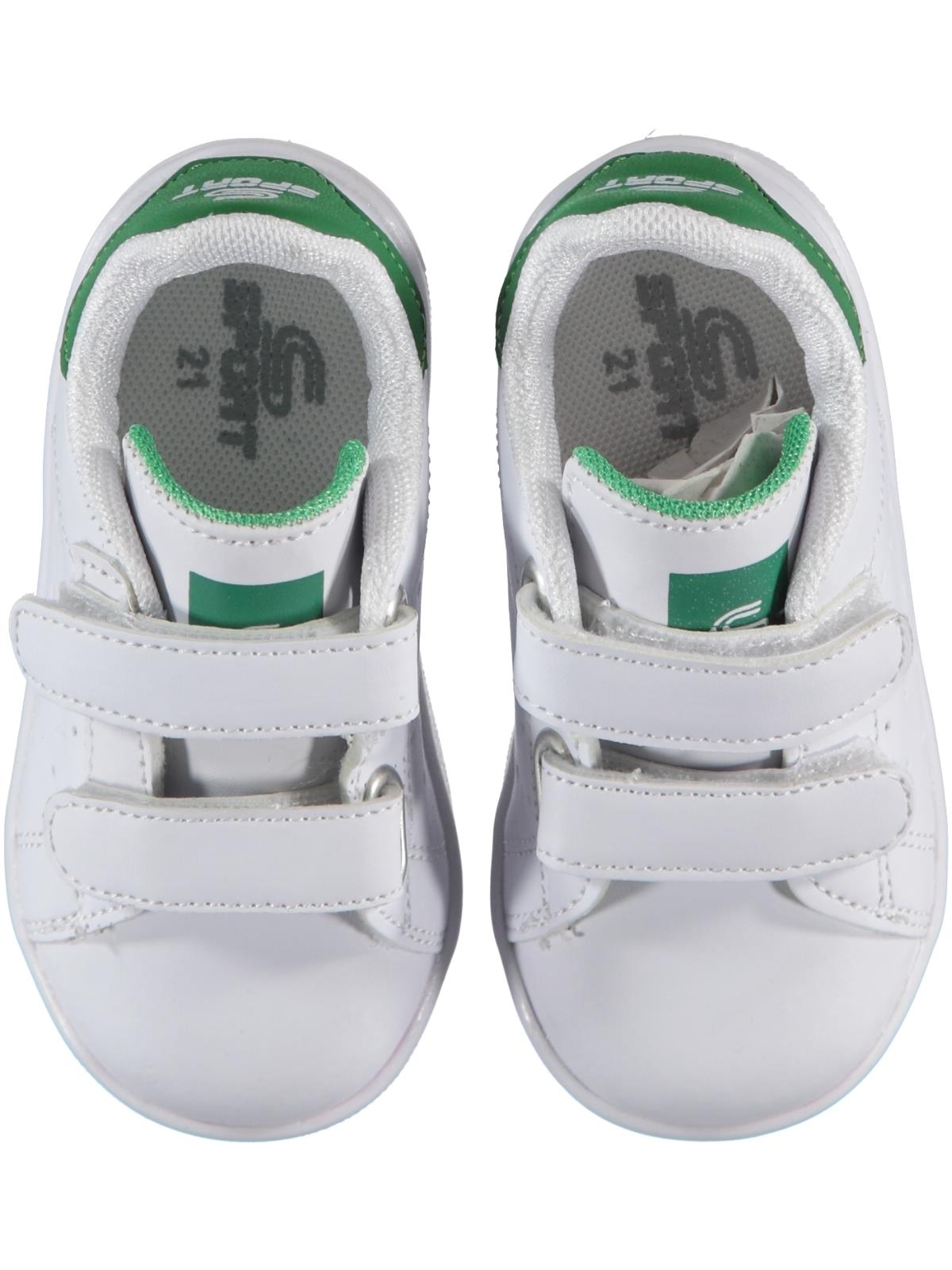 Sport Baby Boy White Sneakers 21-25 Number
