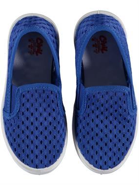 Civil Erkek Çocuk Keten Ayakkabı 26-30 Numara Saks Mavisi