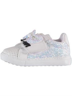 Missiva White Baby Girl Sneakers 21-25 Number (4)